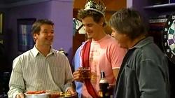 David Bishop, Ned Parker, Joe Mangel in Neighbours Episode 4818