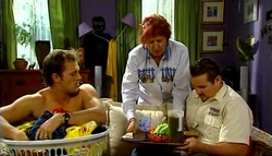 Stuart Parker, Angie Rebecchi, Toadie Rebecchi in Neighbours Episode 4937
