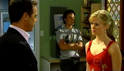 Paul Robinson, Robert Robinson, Elle Robinson in Neighbours Episode 4937