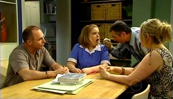 Kim Timmins, Bree Timmins, Karl Kennedy, Janelle Timmins in Neighbours Episode 4937