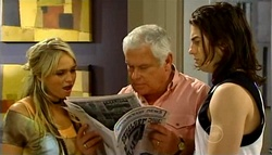 Sky Mangel, Lou Carpenter, Dylan Timmins in Neighbours Episode 4939