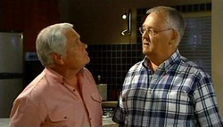 Lou Carpenter, Harold Bishop in Neighbours Episode 4939