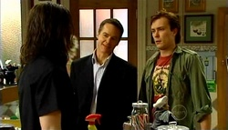 Dylan Timmins, Paul Robinson, Robert Robinson in Neighbours Episode 4943