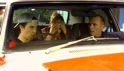 Stingray Timmins, Janelle Timmins, Kim Timmins in Neighbours Episode 4961