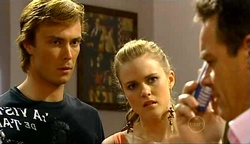 Robert Robinson, Elle Robinson, Paul Robinson in Neighbours Episode 4971