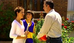 Susan Kennedy, Zeke Kinski, Karl Kennedy in Neighbours Episode 4972