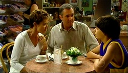 Susan Kennedy, Karl Kennedy, Zeke Kinski in Neighbours Episode 4972