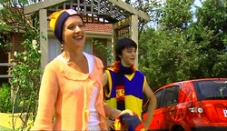 Susan Kennedy, Zeke Kinski in Neighbours Episode 4972