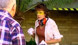 Harold Bishop, Mishka Schneiderova in Neighbours Episode 4974