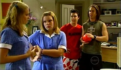 Janae Timmins, Bree Timmins, Stingray Timmins, Dylan Timmins in Neighbours Episode 4974