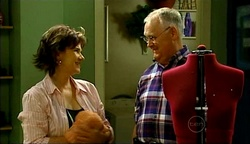 Lyn Scully, Harold Bishop in Neighbours Episode 4975