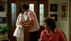 Susan Kennedy, Karl Kennedy, Lyn Scully in Neighbours Episode 4975