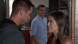 Mark Brennan, Jack Callaghan, Paige Novak in Neighbours Episode 7598