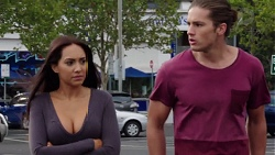 Mishti Sharma, Tyler Brennan in Neighbours Episode 7598