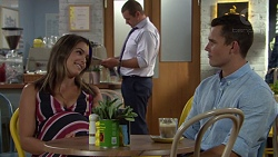 Paige Novak, Toadie Rebecchi, Jack Callaghan in Neighbours Episode 7598