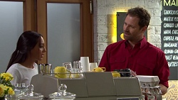 Mishti Sharma, Shane Rebecchi in Neighbours Episode 7599