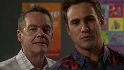 Paul Robinson, Aaron Brennan in Neighbours Episode 7599