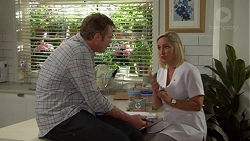 Gary Canning, Brooke Butler in Neighbours Episode 7600