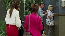 Elly Conway, Susan Kennedy, Gary Canning, Brooke Butler in Neighbours Episode 7600