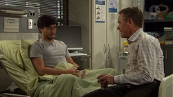 David Tanaka, Paul Robinson in Neighbours Episode 7600