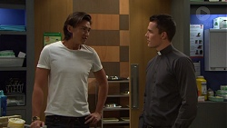 Leo Tanaka, Jack Callaghan in Neighbours Episode 7600