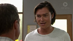 Paul Robinson, Leo Tanaka in Neighbours Episode 7600