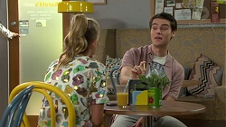 Xanthe Canning, Ben Kirk in Neighbours Episode 7600