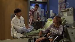 David Tanaka, Ben Kirk, Piper Willis in Neighbours Episode 7601