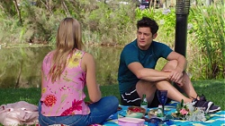 Xanthe Canning, Finn Kelly in Neighbours Episode 7601