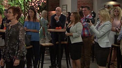 Susan Kennedy, Elly Conway, Tim Collins, Terese Willis in Neighbours Episode 7601