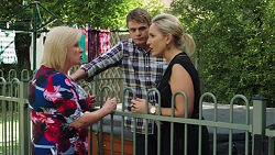 Sheila Canning, Gary Canning, Brooke Butler in Neighbours Episode 7602