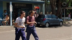 Ben Kirk, Tyler Brennan in Neighbours Episode 7602
