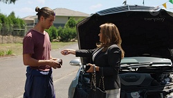 Tyler Brennan, Terese Willis in Neighbours Episode 7602