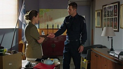 Sonya Mitchell, Mark Brennan in Neighbours Episode 7602