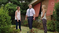 Sonya Mitchell, Toadie Rebecchi, Steph Scully in Neighbours Episode 7603