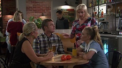 Brooke Butler, Gary Canning, Sheila Canning, Xanthe Canning in Neighbours Episode 7603
