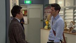 Donald Cheng, Finn Kelly in Neighbours Episode 7603