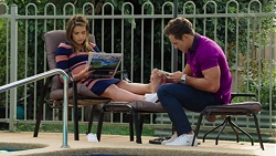 Paige Smith, Aaron Brennan in Neighbours Episode 7604
