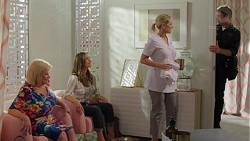 Sheila Canning, Amy Williams, Brooke Butler, Gary Canning in Neighbours Episode 7604