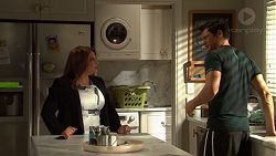 Terese Willis, Finn Kelly in Neighbours Episode 7604