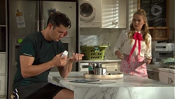 Finn Kelly, Xanthe Canning in Neighbours Episode 7604