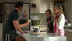Finn Kelly, Piper Willis, Xanthe Canning in Neighbours Episode 7605