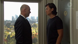 Tim Collins, Leo Tanaka in Neighbours Episode 7605
