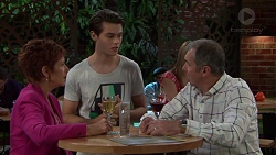 Susan Kennedy, Ben Kirk, Karl Kennedy in Neighbours Episode 7605