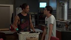 Tyler Brennan, Ben Kirk in Neighbours Episode 7605