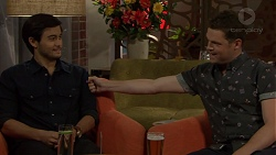 David Tanaka, Will Dampier in Neighbours Episode 7605