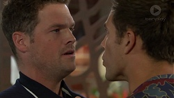 Will Dampier, Aaron Brennan in Neighbours Episode 7605