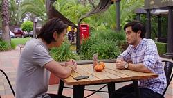 Leo Tanaka, David Tanaka in Neighbours Episode 7606
