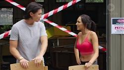 Leo Tanaka, Mishti Sharma in Neighbours Episode 7606