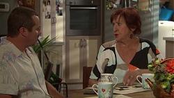 Toadie Rebecchi, Angie Rebecchi in Neighbours Episode 7606